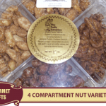 4 Compartment Nut Variety Tray