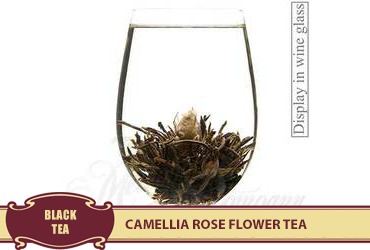 Camellia Rose Flower Tea