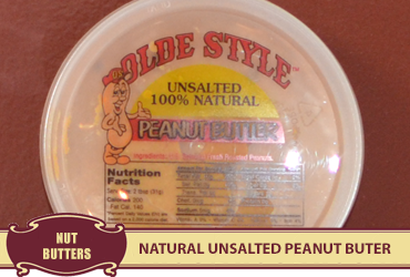 Natural Unsalted Peanut Butter