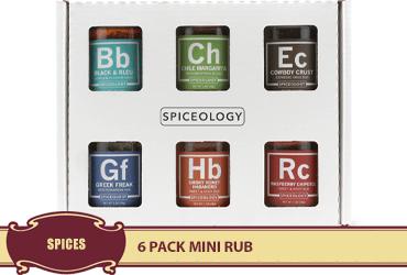 6 Pack Mini Rub